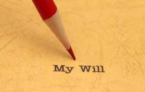my will, wishes regarding